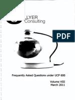UCP 600-FAQ