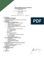 Berde Steering Committee Kick-Off Meeting-secretariat's Copy - PHILGBC - 2010
