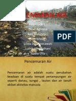 Ppt Pencemaran Air