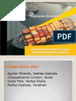 ETPP exportacion temporal para perfeccionamiento pasivo