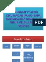 Mengungkap Praktek Kecurangan (Fraud) Pada Korporasi
