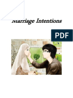 Marriage Intentions