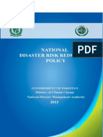 Drr Policy 2013