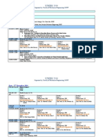 ICMIEE Schedule
