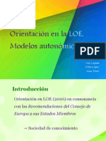 LOE (2006) en sociología