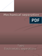 electrostatic separations
