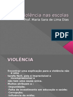 Violência nas escolas