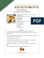 Recipe Peach Kolac