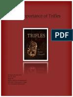 morholtthe importance of trifles
