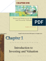 Introduction to  Investing and Valuation