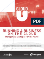 Running a Business on the Cloud