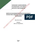 Gestão Da Qualidade Em Processos de Tratamento de Água Para Indústria Farmacêutica - Validação de Processos