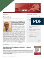 Newsletter Februarie 2013