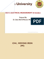 Lecture 4 Moving iron instrument