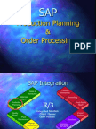 SAP PP Production Planning & Order Processing