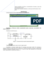 Lucrarea de Laborator Nr3 Dispozitive Electronice