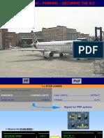 Airbus After-landing Parking Securing