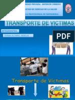 TRANSPORTE DE VICTIMAS.ppt