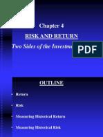 Chacreditpter 4 Risk and Return