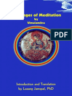 Vimalamitra, Lozang Jamspal - The Stages of Meditation