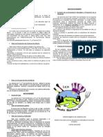 Boletin departamento orientación IES Sierra de Santa Bárbara (primer trimestre 2014-15)