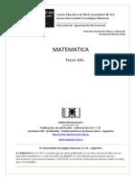 Matemáticas 3 Secundaria