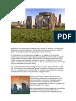 Stonehenge Es Un Monumento Ritual Prehistórico Situado en Wiltshire
