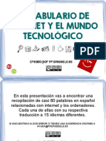 VOCABULARIO TECNOLOGIA