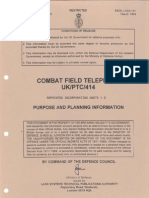 Combat Field Telephone UK/PTC/414 (1994)