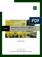 Guía Para Alumnos de Antropología Cognitiva y Simbólica I 2013-2014