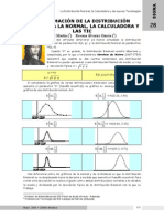 Aproximación Normal a La Binomial