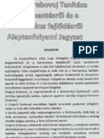 Grigorij Grabovoj - Alapfanfolyami Jegyzet