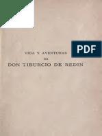 Vida y Aventuras de Don Tiburcio de Redín