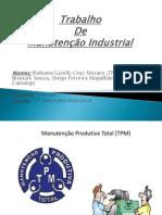 Trabalho Manutenção Industrial
