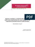 Sme v4n1 Sbaldeón Impacto Económico y Social Del Sello de Comercio Justo en Las Exportaciones de Cacao Orgánico1
