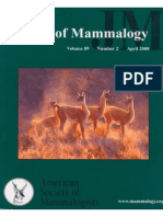 Marin_Mitochondrial DNA Variation and Systematics of the Guanaco (Lama Guanicoe)_cportada_2008 Guanaco