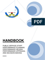 Psc Appraisal Manual