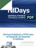 Microcontroladores y FPGA Para El Desarrollo de Sistemas Embebidos NI
