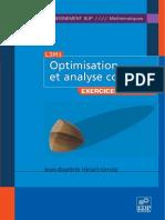 Optimisation Et Analyse Convexe Exercices Et Probl Mes Corrig s Avec Rappels de Cours