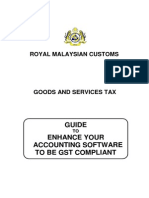 MALAYSIA GST Guide on Accounting Software
