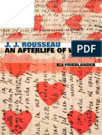 Eli Friedlander-J J Rousseau_ an Afterlife of Words-Harvard University Press (2004)