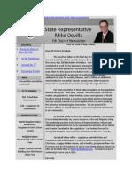 House District 7 December E-Newsletter
