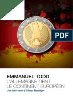 Longue Interview d'Emmanuel Todd
