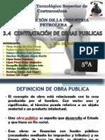 3.4 Contratacion de Obras Públicas