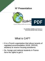 CAF Presentation,