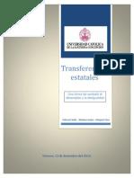 Transferencias Estatales
