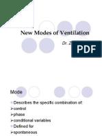 Recent Modes of Ventilation 103
