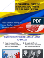 Colombia Necesita La Paz