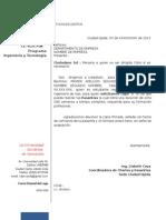 UNERB Carta de Presentacion Pasantias Ingenieria GAS