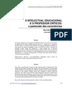 Garcia, Maria Manuela Alves. O Intelectual Educacional e o Professor Críticos
